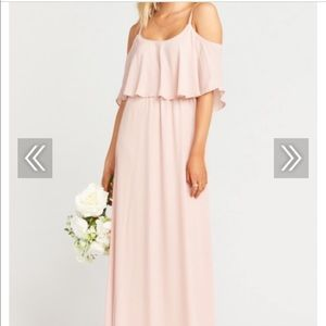 Dusty Blush Bridesmaid Dress Show Me Your Mumu